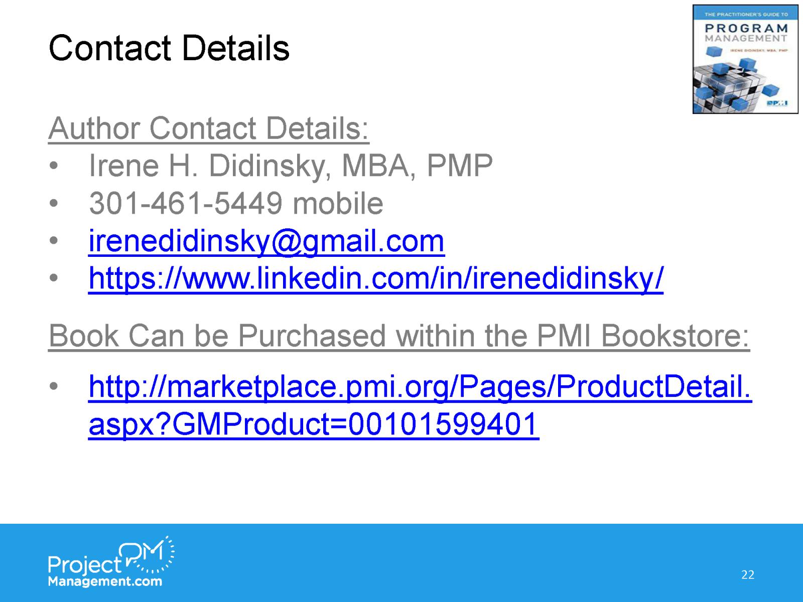 ProjectManagementcom webinar_Irene Didinsky_05112018_FinalFinal_Page_22
